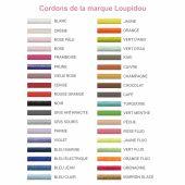 Cordons supplémentaires pour bracelets Loupidou (36 couleurs au choix) - Loupidou