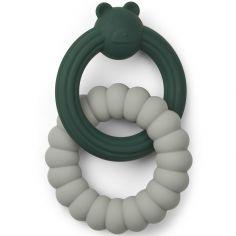 Anneau de dentition Herbert Mr Bear green mix