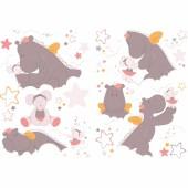 Stickers muraux décoratifs Mia et Victoria - Noukie's