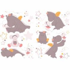 Stickers muraux décoratifs Mia et Victoria