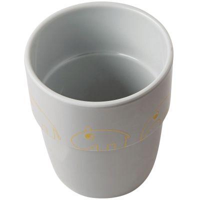 Gobelet Yummy Contour gris et or (240 ml)