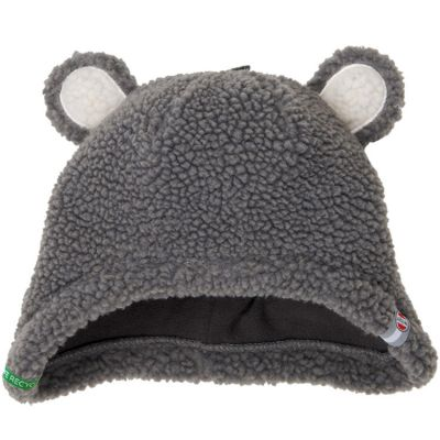 Bonnet hiver ours gris Teddy (6-12 mois)  par Lodger