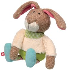Peluche lapin Patchwork Sweety (28 cm)