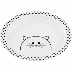 Assiette plate Little Chums chat