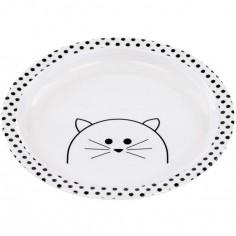Assiette plate Little Chums chat