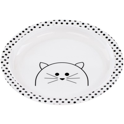 Assiette plate Little Chums chat  par Lässig