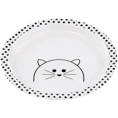 Assiette plate Little Chums chat  par Lässig