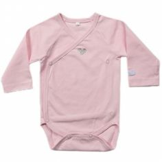 Body manches longues coeur rose Etoiles (1 mois)