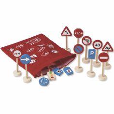 Panneaux de circulation pour circuit
