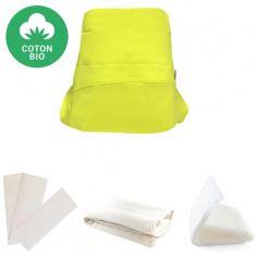 Kit couche en coton bio Green Banana 4 pièces (Taille XS)