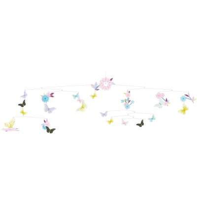 Mobile Ronde des papillons Djeco