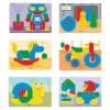 Jeu de clous mozaïque Pegs (160 pièces)   par Miniland