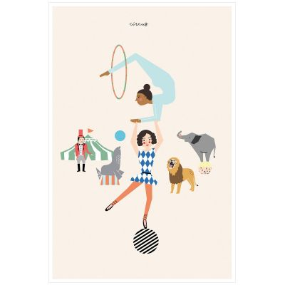 Affiche Circus (60 x 40 cm)  par Mimi'lou