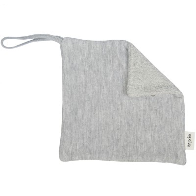 Doudou attache sucette Granite Grey  Trixie