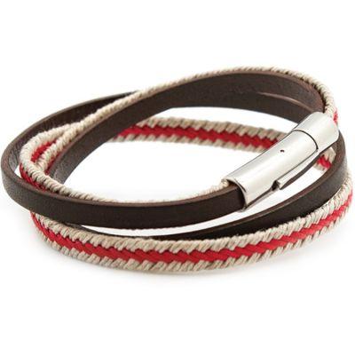 Bracelet Le Marin rouge (acier) Petits trésors
