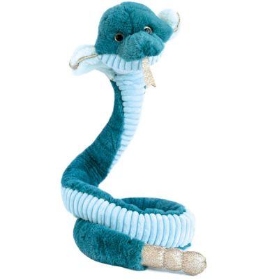 Peluche géante serpent Cobra Les animaux des grands espaces (135 cm)  par Histoire d'Ours