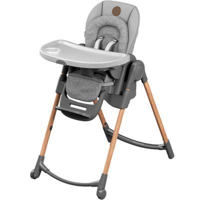 Chaise haute évolutive Minla Essential grise  par Bébé Confort