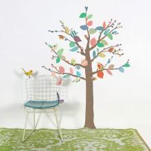 Stickers muraux arbre à motifs  par Mimi'lou