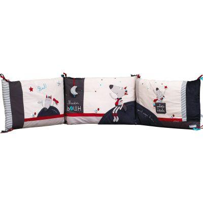 tour de lit mister bouh pour les lits 120 x 60 et 140 x 70. Black Bedroom Furniture Sets. Home Design Ideas