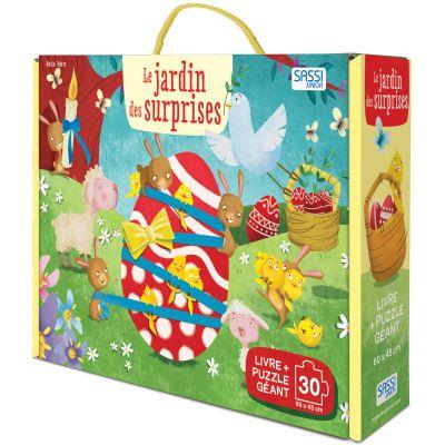 Livre et puzzle géant Le jardin des surprises, N. Fabris Sassi Junior