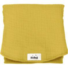 Tapis à langer jaune moutarde