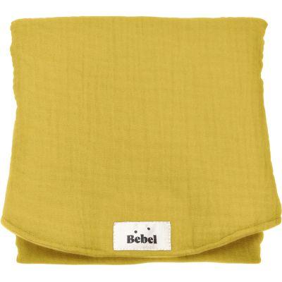 Tapis à langer jaune moutarde  par BEBEL