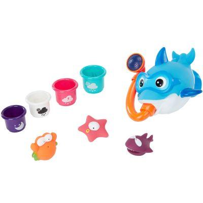 Coffret jouets de bain Rigolo & co (8 pièces) Badabulle