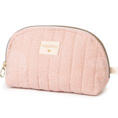 Trousse de toilette Holiday White bubble Misty pink