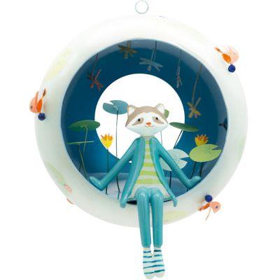 Mobile décoratif Les capsulettes Raton laveur  par L'oiseau bateau