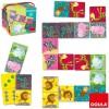 Dominos carrés safari - Goula