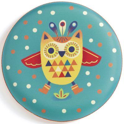 Frisbee hibou Flying Owl  par Djeco