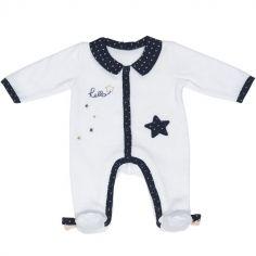 Pyjama chaud étoile Hello (1 mois)