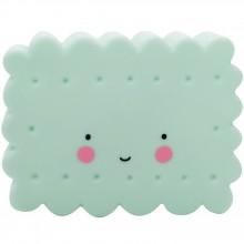 Petite veilleuse cookie vert menthe  par A Little Lovely Company