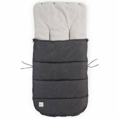 Chancelière poussette Comfortbag gris foncé (100 cm)