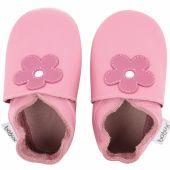 Chaussons en cuir Soft soles rose bonbon Mary Quant (3-9 mois) - Bobux