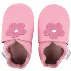 Chaussons en cuir Soft soles rose bonbon Mary Quant (3-9 mois)