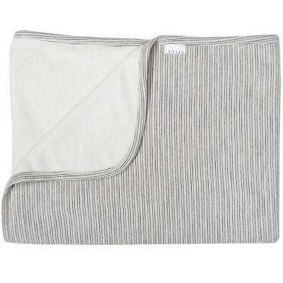 couverture polaire blue ribbons 100 x 150 cm par les r ves d 39 ana s. Black Bedroom Furniture Sets. Home Design Ideas