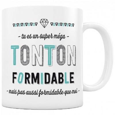 Mug Tonton formidable  par Créa Bisontine