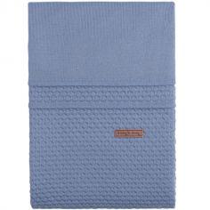 Housse de couette + taie d'oreiller bleue Cloud (100 x 135 cm)