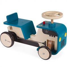 Porteur tracteur bleu