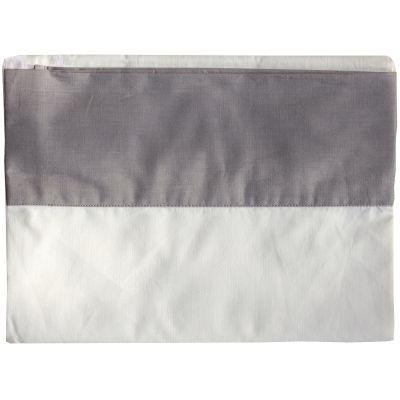 Drap de lit coton bio Chouette (118 x 180 cm)  par P'tit Basile