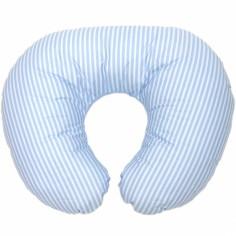 Coussin d'allaitement Style 8 bleu (58 x 45 cm)