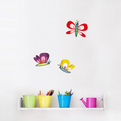 Stickers muraux Papillons  par Série-Golo