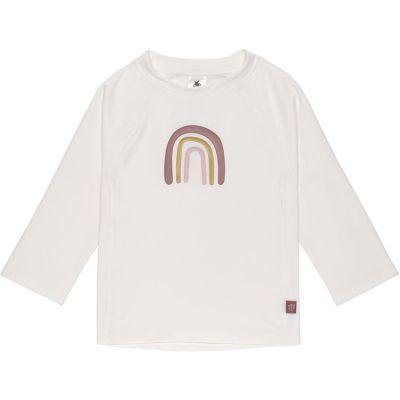 Tee-shirt anti-UV manches longues Arc-en-ciel blanc (24 mois)