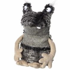 Peluche Sweety monstre gris foncé (27 cm)