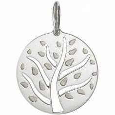 Médaille de naissance Arthur personnalisable 18 mm (or blanc 750°)