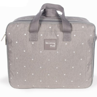 Valise de maternité Gaby gris  par Walking Mum