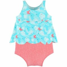 Maillot de bain double protection Explore girl (9-12 mois)