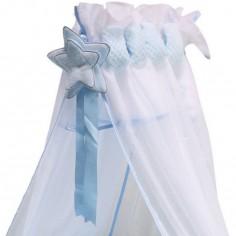 Ciel de lit Beryl bleu