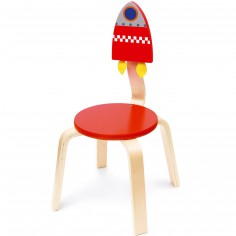 Chaise Espace rouge